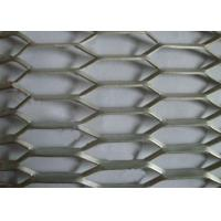 China Reinforcing 2MM*10MM*8MM* Aluminum Expanded Metal Mesh For Protection wholesale