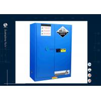 Buy cheap Customized Fireproof Paint Cabinet , Vented Chemical Storage Cabinets from wholesalers