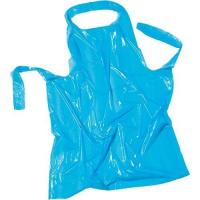 China Surface Smooth Adult Disposable Aprons / Water Resistant Kitchen Apron wholesale