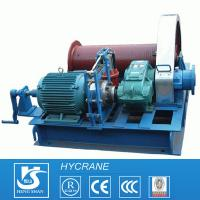 China Low Speed or High Speed Drum Wire Rope Crane Electric Winch wholesale