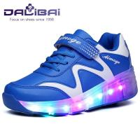 China Customized LED Light Up Children Shoes , led shoes for girls with 7 Colors wholesale