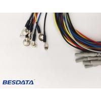 Buy cheap Portable EEG Medical Equipment EEG Electrodes TPU Cable 1.5m Cable length from wholesalers