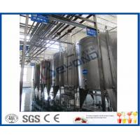 China Juice Tea Beverage Production Line , Food And Beverage Service Equipments wholesale