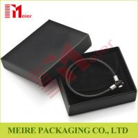 China Black bracelet jewelry packaging,wedding gifts or birthday gifts box for men wholesale