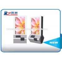 China Full HD 1080p Wall Mount Touch Screen Information Kiosk For Advertising / Shopping Mall wholesale