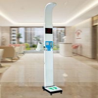 China Measuring Height Weight Bp Machine With Multi Coin Acceptor wholesale