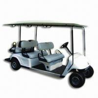 China 6-seat Electric Golf Cart with 19 to 22kph Speed, Operated by Silicone Gel Battery wholesale