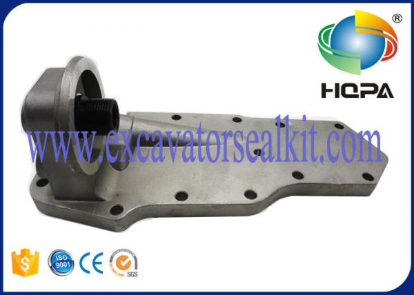 Quality Standard Size Excavator Engine Parts , Silver Oil Cooler Assembly Billet Aluminum Materials for sale