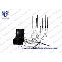Buy cheap 100W Output Drone Signal Jammer , Portable Cell Phone Signal Jamming Device from wholesalers