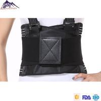 Quality Customized Size Lumbar Support Brace / Waist Protection Belt With Suspenders for sale