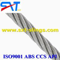 China galvanized steel wire rope slings supplier 6*49SWS+FC wholesale
