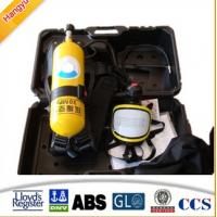 China 5L 6L Respirator Fire Fighting Breathing Apparatus Set wholesale