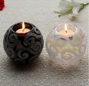 China lantern wholesale glass jars craft candle holder wholesale