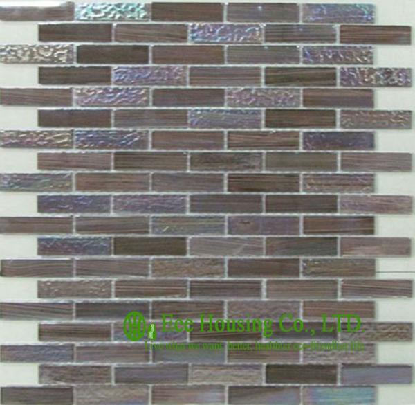 Mosaics Tile Lowes Galaxy Glass Mosaic Tiles
