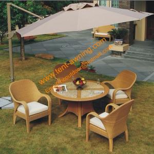 China Aluminum Cantilever Parasol  Waterproof Outdoor Garden Hanging Umbrella wholesale