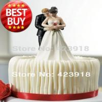 China Free Shipping Yes to the Rose- Custom Couple Figurine Wedding Cake Topper Wedding Accessories Decoration on sale