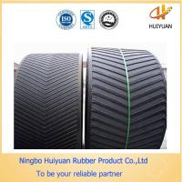 China V Cleat (chevron) Rubber Conveyor Belt  for Packged Materials wholesale
