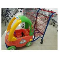 China Supermarket Toy Car Fun Metal Kids Shopping Carts Trolley With Wheels wholesale