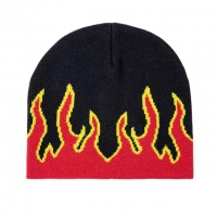 Buy cheap Fashion Fire Design Knit Beanie Hats Woven Label Character Style from wholesalers