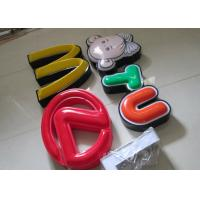 China Illuminated Channel Letters Metal Returns With Formed Face / Outdoor Signage on sale