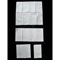Zero Bleaching White 1 Ply 17gsm Paper Napkins Customised Package