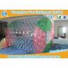 China Rodillo inflable impermeable del agua de la caja fuerte, bola inflable del hámster de Gaint para la gente wholesale