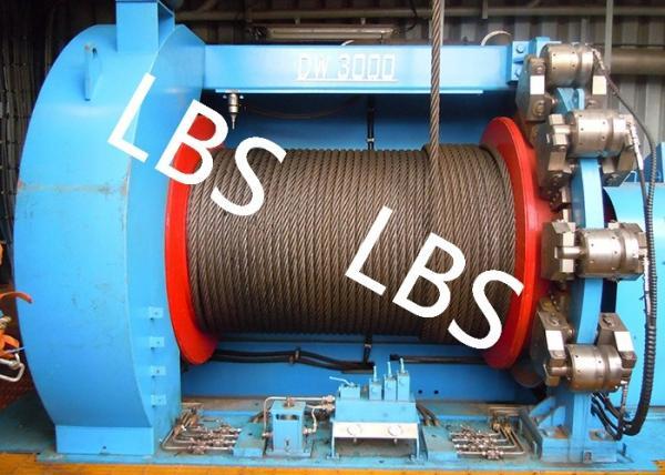 Quality Lebus cannelle le treuil en mer de pièces de plate-forme de forage de puits de pétrole de treuil avec le disque de frein for sale