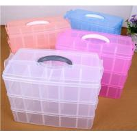 China Parts Stocker Organizer PP Plastic Storage Box, pp EVA plastic adjustable plastic storage box, PLASTIC MESS ARTICLE TABL on sale