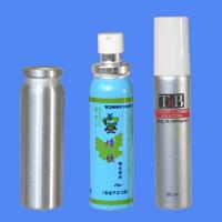China 20ml Metal Aluminum Spray Bottle with cap and pump sprayer for Aerosol on sale
