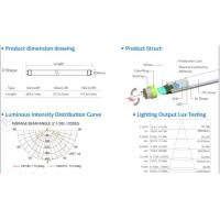 China 180 Degree rotating end cap design led tube with 120lm/w Ra80 wholesale