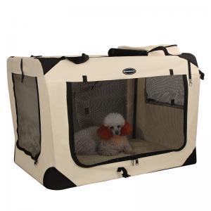 China Modern Songmics Pet Carrier Box For Car Travel Soft Fleece Mat  Comfort Ensured wholesale
