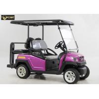 China Energy Saving 4 Seater Battery Powered Car Golf Cart With Brake System wholesale