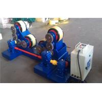 China 5T - 60T Pipe Welding self - aligning Rotator with rubber rollers , tank turning rolls wholesale
