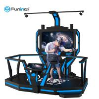 China 1 Player VR Space Walk Platform , Virtual Reality Games Simulator With ISO 9001 wholesale