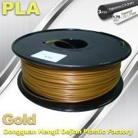 Cubify And Up 3D Printer Filament PLA 1.75mm 3.0mm Gold Filament