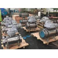 China Fixed Ball Trunnion Mounted Flanged Ball Valve With Worm Gear Operation on sale