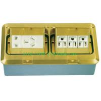 China ground socket,outlet,double pop-up ground socket wholesale