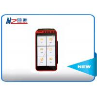 China Mobile Point Of Sale Devices Android POS Terminal Barcode Scanner Handheld Pos With Printer on sale