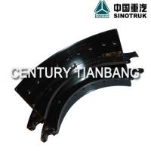China Sinotruk Howo A7 truck parts Rear brake shoe 199000340070. wholesale