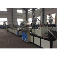 China Plastic Board Extrusion WPC Board Production Line With Two Screw on sale