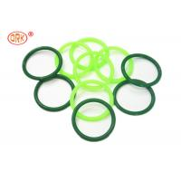 China AS568 Standard Silicone O Rings Clear And Green FDA Grade / Silicon Rubber Rings wholesale