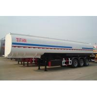 China 3 axles diesel fuel tank semi trailers of 45,000 and 50,000 litres volume for sale wholesale
