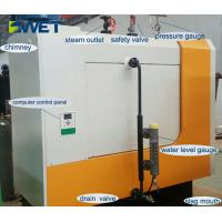 Buy cheap 600kg / H Biomass Pellet Industrial Steam Boiler Environmentally Friendly from wholesalers