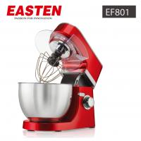 China Easten 700W Plastic Stand Mixer EF801 /China Made 4.3 Liters Stand Mixer / Oil Spray Red Electric Kitchen Mixer Price wholesale
