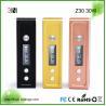 China Portable 30W E Cig Mod 3IN Z30 Sand Blasting Aluminum Alloy wholesale