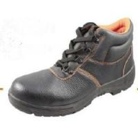 China Steel Toe Cap and Steel Plate PU Injected Outsole Safety Shoes Wm007 wholesale
