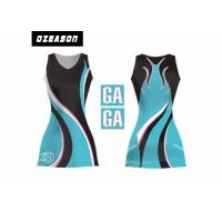 China Sports Team Clothing Sublimated Netball Dresses With Netball Bibs on sale