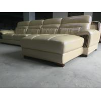 Quality A843; L shape genuine leather sofa, modern home furniture,office furniture, for sale