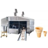 China cadena de producción del cono del azúcar de la oblea del helado 0.75kW ahorro de la energía, garantía de 1 año wholesale