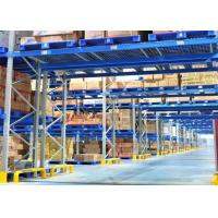 Steel Heavy Duty Storage Shelving , Cold Warehouse Industrial Pallet Racking